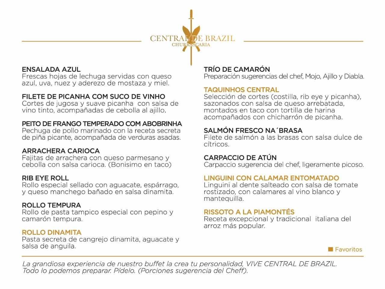 Central De Brazil Reservaciones